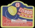 Citronvand - Sukkerfri Fremstillet med kunstig s�destof