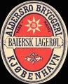 Bajersk Lager�l - Oval etiket