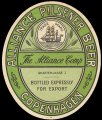 Pilsener Beer - Bottled expressly for export
