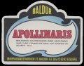 Apollinaris - 0,25 l - Brystetiket