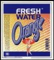 Fresh Water Orange - 1,5 l - Brystetiket