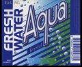 Fresh Water Aqua - 0,5 l - Brystetiket