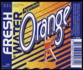 Fresh Water Orange - 0,5 l - Brystetiket