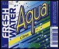Fresh Water Aqua Citrus - 0,5 l - Brystetiket