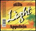 Light Appelsin - 0,25 l - Brystetiket