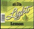 Lemon Light - 0,5 l - Brystetiket