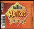 Abrikos - 0,5 l - Brystetiket