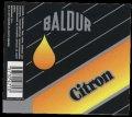 Citron - 0,25 l - Brystetiket