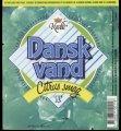 Dansk Vand Citrus Smag - 1,5 l - Brystetiket