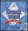 Dansk Vand - 1,5 l - Brystetiket