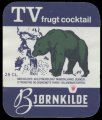 TV Frugt cocktail - Brystetiket