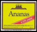 Ananas - Brystetiket