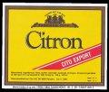 Citron - Brystetiket