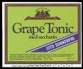 Grape Tonic sukkerfri - Brystetiket