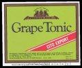 Grape Tonic - Brystetiket