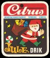 Jule drik - Brystetiket