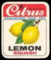 Lemon Squash - Brystetiket