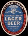 First Class Danish Lager Berr - Brystetiket
