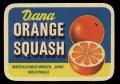 Orange Squash - Brystetiket