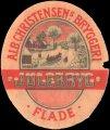 Julebryg - Alb. Cristensens Bryggeri Flade