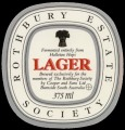 Rothbury Estate Society - Lager - Frontlabel