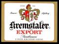 Kremstaler export