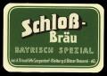 Schloss Br�u Bayrisch Spezial - Frontlabel