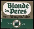 Blonde des Peres de l Abbaye d Aulne