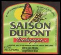 Saison Dupont Biologigue - Frontlabel