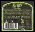 Saison Dupont Biologigue - Backlabel