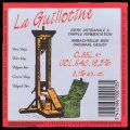 La Guillotine - Backlabel