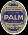 Palm Lager Beer - Front label - Export USA