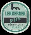 Lekkerbek Pils - Front Label