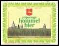 Hommel Bier - Front label