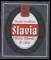 Slavia - Haute tradition Biere Blonde de Luxe - Brewed and bottled under license by Brasseries du Cameroun S.A.