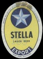 Stella Lager beer Export - Brewed and bottled by Societe Crown Brewery S.A. Alexandria