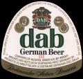 German beer - Frontlabel