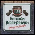 Dortmunder Actien-Pilsener - Gebraut nach dem reinheitsgebot