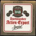 Dormunder Actien Export - Spezial - Frontlabel