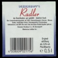 Radler - Backlabel