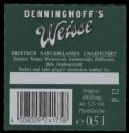 Weisse - Hefetr�b - Backlabel