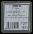 Giessener Export - Backlabel