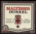 Malteser Dunkel - Frontlabel