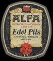 Edel Pils - Oval Label