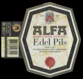 Edel Pils - With hanger on left side with barcode