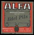 Edel Pils - Squarely Label