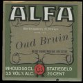 Oud Bruin - Squarely Label