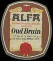 Oud Bruin - Oval Label