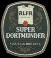 Super Dortmunder - Oval label