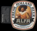 Alfa Fresh Holland Beer - With hanger on left side without barcode